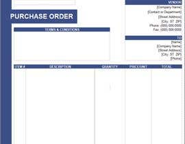 #5 para Build me a purchase order format with GST and HNS Details por imfarrukh47