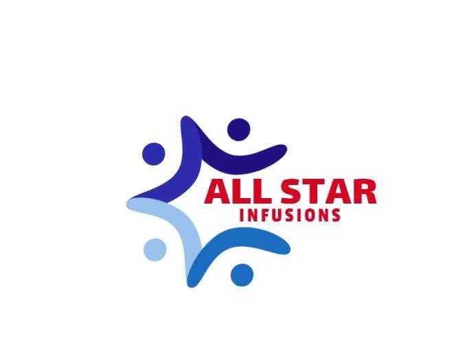 """Penyertaan Peraduan #95 untuk Logo - """"All Star Infusions"""""""