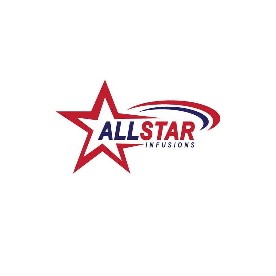 """Penyertaan Peraduan #58 untuk Logo - """"All Star Infusions"""""""