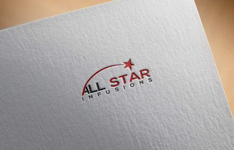 """Penyertaan Peraduan #110 untuk Logo - """"All Star Infusions"""""""