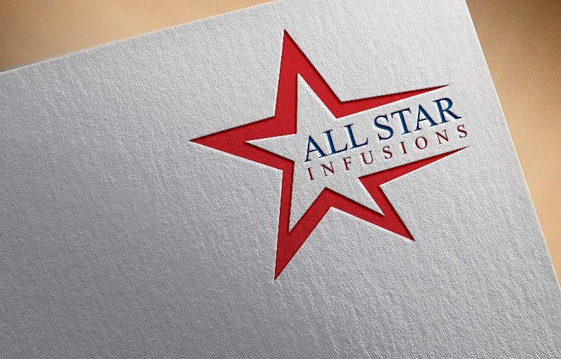 """Penyertaan Peraduan #71 untuk Logo - """"All Star Infusions"""""""