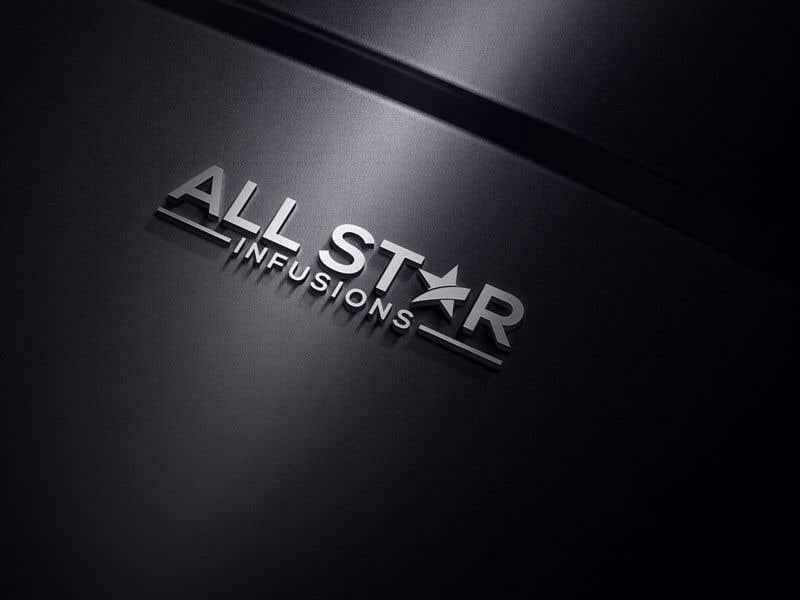 """Penyertaan Peraduan #94 untuk Logo - """"All Star Infusions"""""""