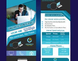 #66 for Postcard style flyer for telecom business double sided af ferdaus638