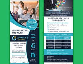 #77 for Postcard style flyer for telecom business double sided af AhmedShakil24