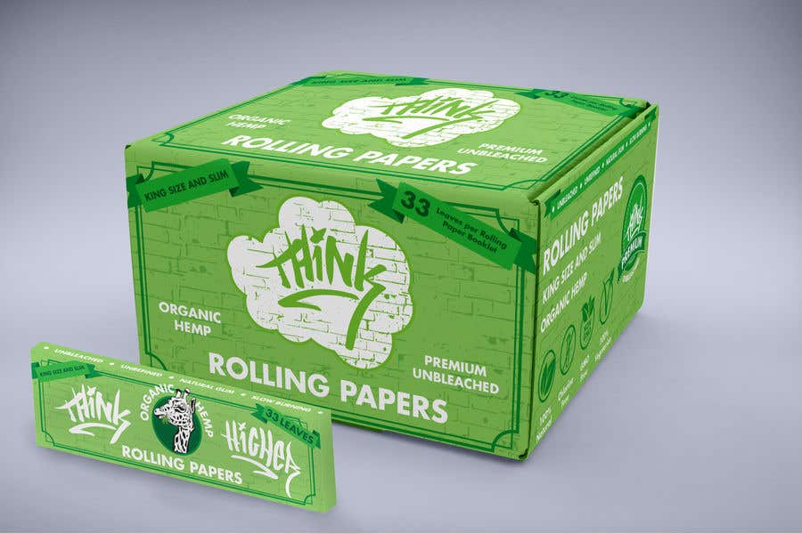 Конкурсная заявка №14 для Design a Rolling Paper Booklet