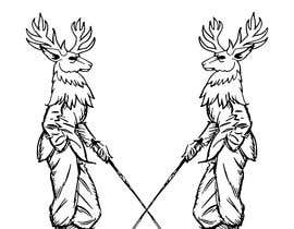 Nro 7 kilpailuun Contest - stag image logo käyttäjältä DEVANGEL1