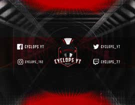 #31 untuk Make a YouTube logo and banner for my gaming channel oleh Mina1329