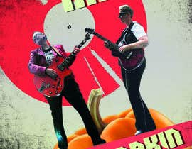 #7 for business card and banner for my band Ruby and the Pumpkin by rajatdhunk