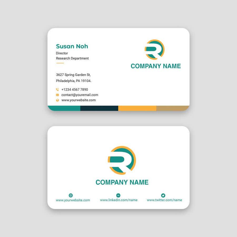 Konkurrenceindlæg #123 for Business card