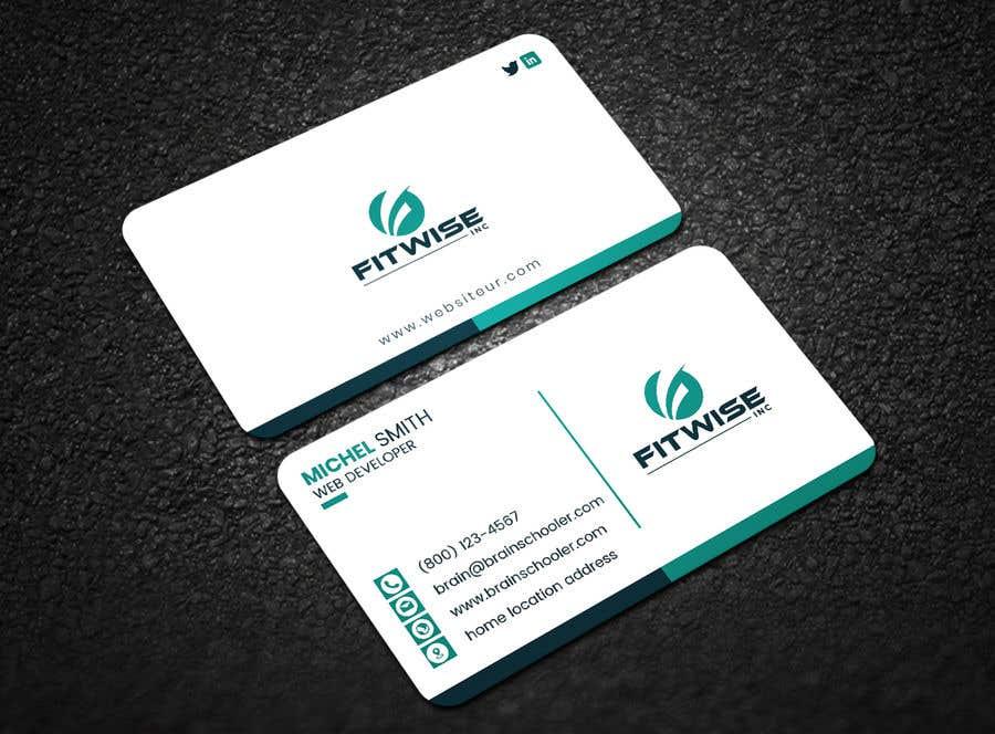 Konkurrenceindlæg #107 for Business card