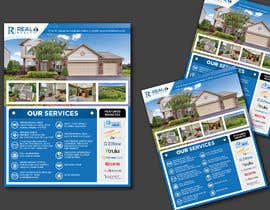 #152 cho Custom one page Professional Brochure for Real Estate Company bởi karimulgraphic