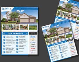 #153 cho Custom one page Professional Brochure for Real Estate Company bởi karimulgraphic