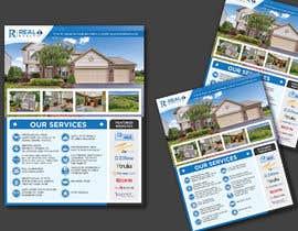 #153 untuk Custom one page Professional Brochure for Real Estate Company oleh karimulgraphic