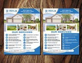 #159 cho Custom one page Professional Brochure for Real Estate Company bởi qamarkaami