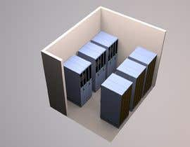 #7 for Create a server room 3D floorplan af sunil1980gupta