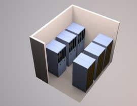 sunil1980gupta tarafından Create a server room 3D floorplan için no 7