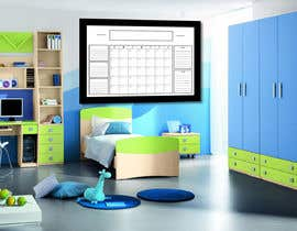 #60 untuk Design Calendar Section / Notes Section For a Home Dry Erase Whiteboard oleh bhowmick77