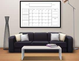 #49 cho Design Calendar Section / Notes Section For a Home Dry Erase Whiteboard bởi SiddharthBakli