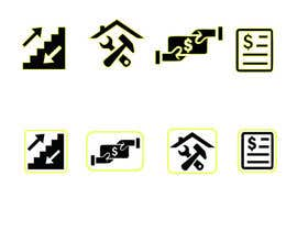 #9 for Create some easy and simple Icons (see document) by juthy19