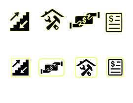 Nro 9 kilpailuun Create some easy and simple Icons (see document) käyttäjältä juthy19