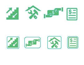 #12 for Create some easy and simple Icons (see document) by juthy19
