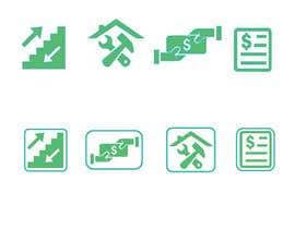 Nro 12 kilpailuun Create some easy and simple Icons (see document) käyttäjältä juthy19
