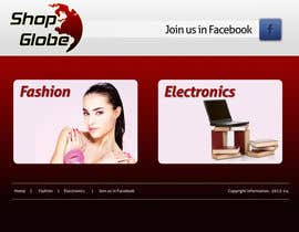 #2 cho Landigpagedesign for shop-globe.com bởi vigneshhc