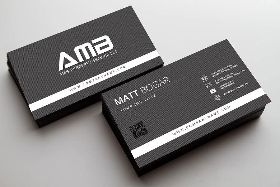 Entry #19 by surjasen for Design some Business Cards for AMB ...