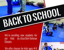 #94 untuk Back to School, BJJ Academy Ad design. oleh Rasel1712
