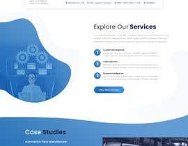 #85 untuk Word Press Home Page design -   Softura.com oleh kaizendesigns