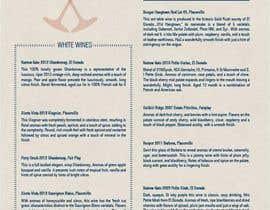 Nro 6 kilpailuun Need A FANTASTIC Restaurant Menu Designed Please! :D käyttäjältä tanjapesic