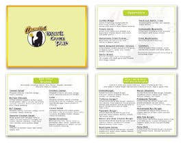 Nro 24 kilpailuun Need A FANTASTIC Restaurant Menu Designed Please! :D käyttäjältä graphOziko