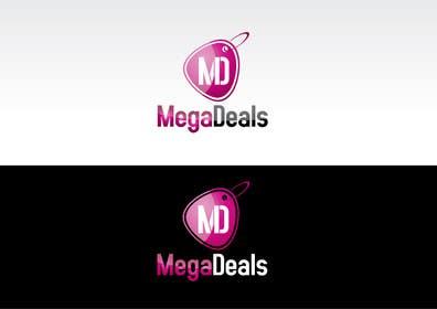 nº 43 pour Logo Design for MegaDeals.com.sg par paxslg