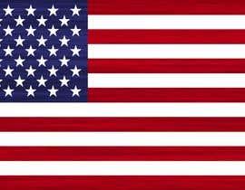 #27 untuk United State Of America flag oleh airinbegumpayel