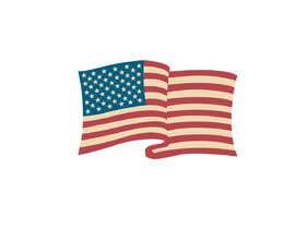 #58 untuk United State Of America flag oleh sajeebhasan177