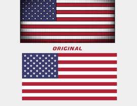 #62 untuk United State Of America flag oleh sajeebhasan177