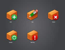 #4 untuk Icon or Button Design for Logistic platform oleh raikulung