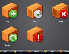 #21 untuk Icon or Button Design for Logistic platform oleh raikulung