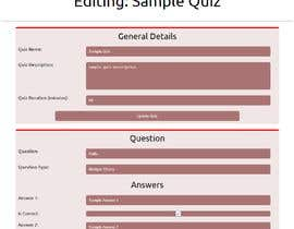 #11 for Build a JavaScript HTML Bootstrap based online Quiz website by Sam1773