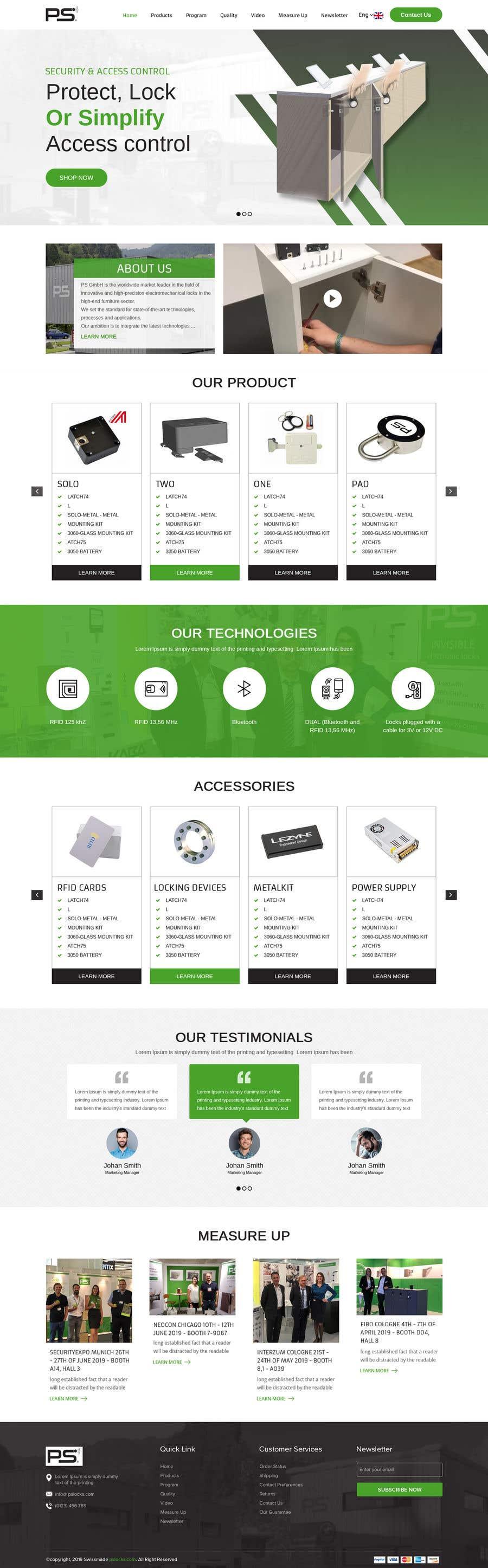 Конкурсная заявка №9 для Design a new website and catalogue - Just a general design