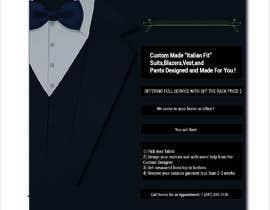 #21 untuk Poster Design - Custom Suits oleh salmaaktermonty