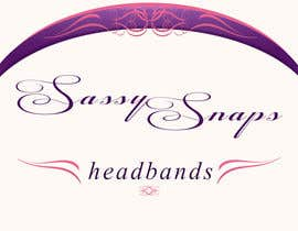 #26 para Logo Design for Sassy Snaps Headbands por happybuttha