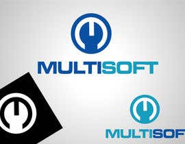 nº 170 pour Logo Design for MULTISOFT par Don67