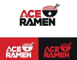 "zahidhasan201422 tarafından Create a new Japanese Ramen restaurant logo called ""ACE RAMEN"" için no 519"