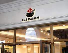 "bidayrojoni tarafından Create a new Japanese Ramen restaurant logo called ""ACE RAMEN"" için no 52"