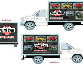#40 for BOX TRUCK WRAP DESIGN by zamanflr88