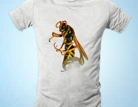 #16 untuk Make a T-Shirt with supplied pictures of bugs oleh MortozaZahid