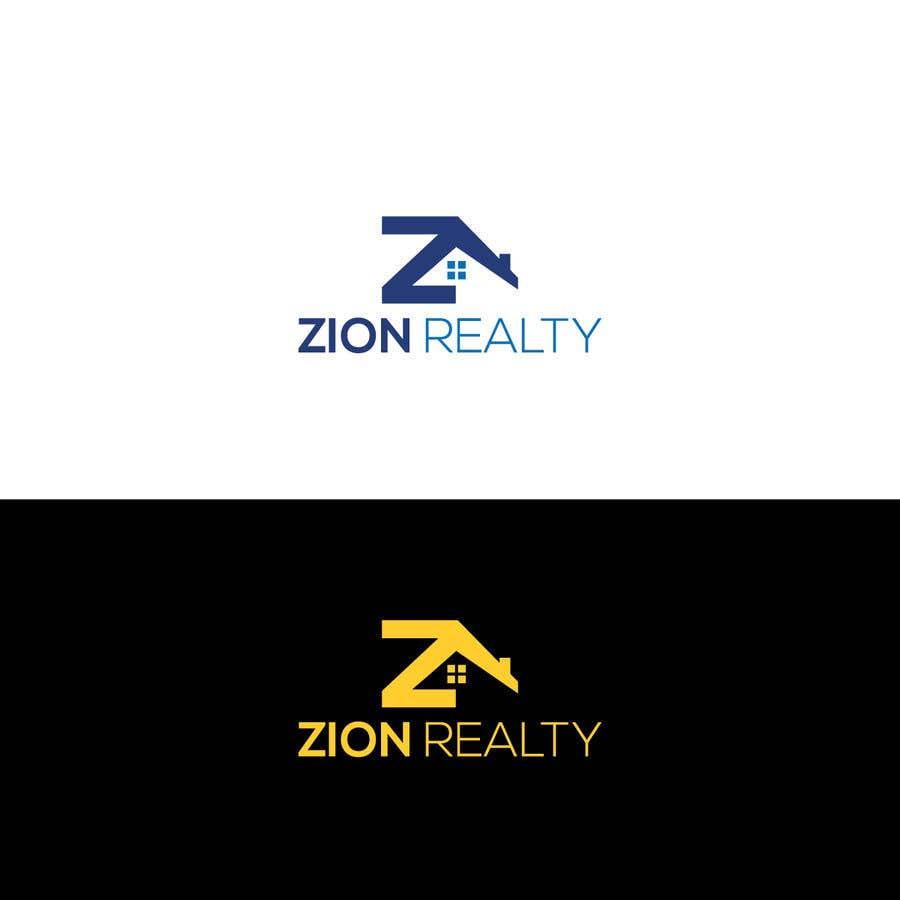 """Penyertaan Peraduan #434 untuk Logo for """"Zion Realty"""""""