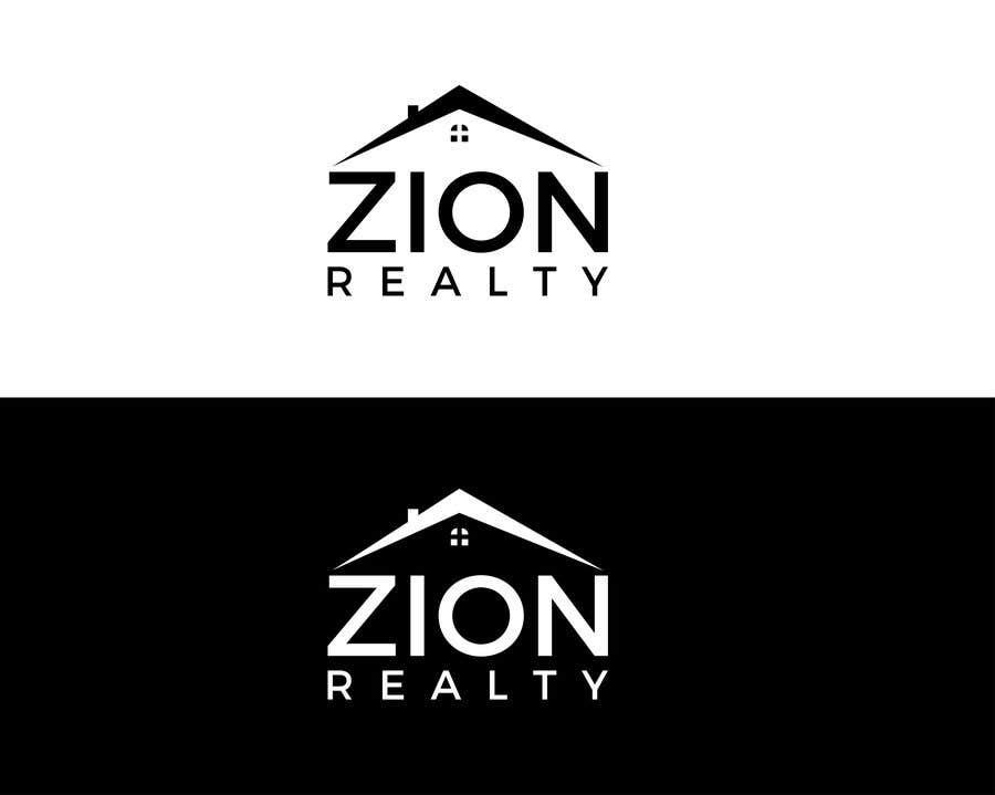 """Penyertaan Peraduan #365 untuk Logo for """"Zion Realty"""""""