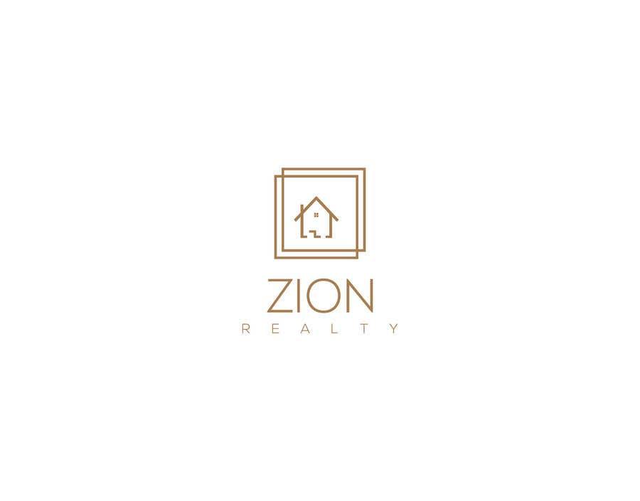 """Penyertaan Peraduan #290 untuk Logo for """"Zion Realty"""""""